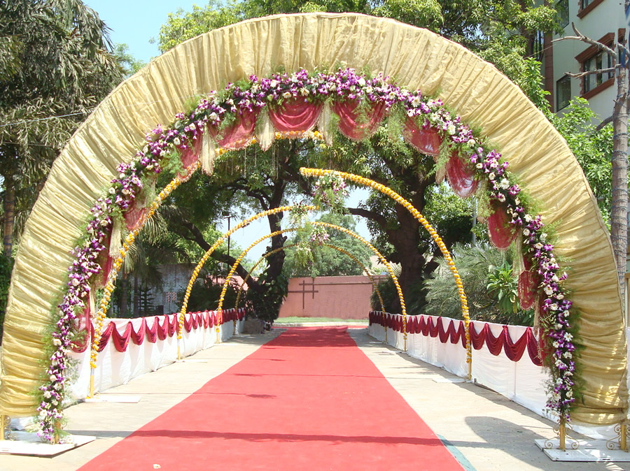 Photo Gallery of Party Plot with Decoration – Maa Party